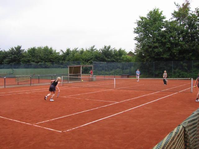 Verlorenes Aufschlagspiel Beim Tennis
